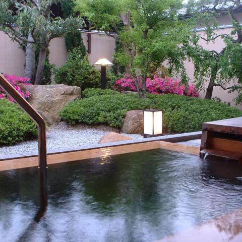 東離れ庭園露天風呂
